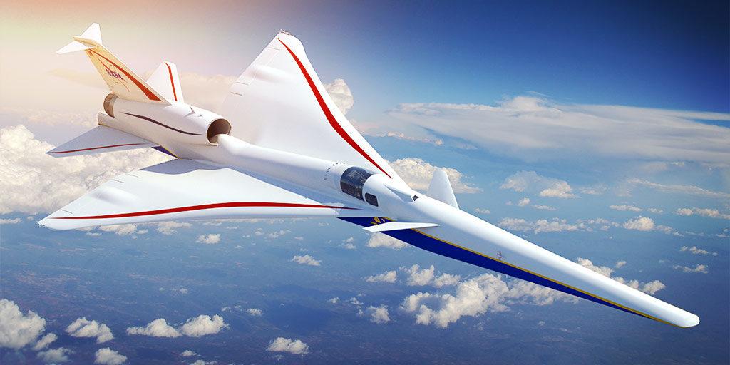 X-59 QeSST Jet