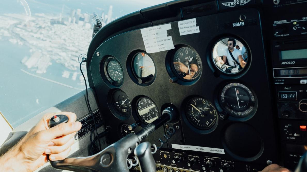 control-panel-in-flight
