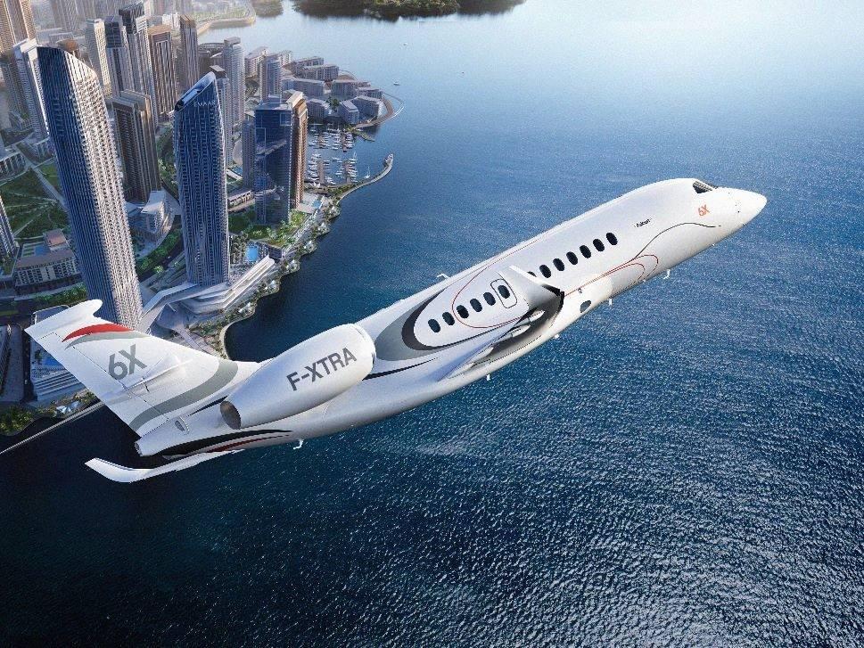 Dassault Falcon jet