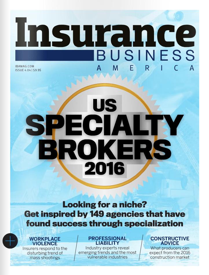 Insurance Business America MAGAZINE MAY 2016