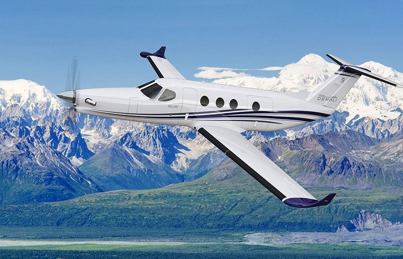 Cessna flying